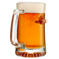 Bullet Beer Mug - 24oz
