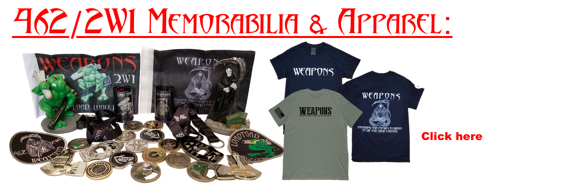 Weapons Memorabilia and Apparel