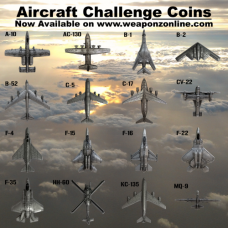 (Mixed/Group Buy) Discounted Aircraft Challenge Coins