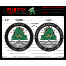 Custom LoadToads Challenge Coin