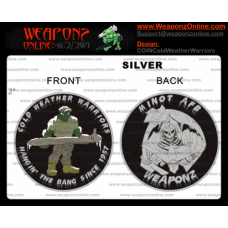 Custom Cold Weather Warriors Challenge Coin