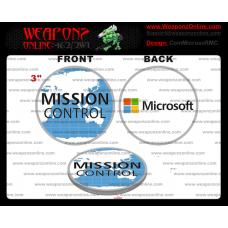 Custom Microsoft Mission Control Challenge Coin