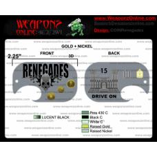Custom Renegades Challenge Coin