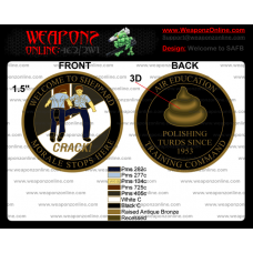 Custom Welcome To SAFB Challenge Coin
