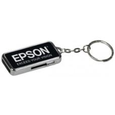 8 GB USB Flash Drive in Black Metal