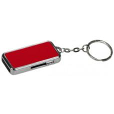 8 GB USB Flash Drive in Red Metal