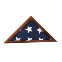 """Genuine Walnut Flag Cases (16 1/4"""" x 8 1/4"""")"""