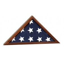 """Genuine Walnut Flag Cases (25 1/2"""" x 12 3/4"""")"""