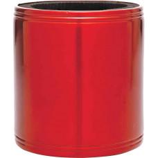 Metal Beverage Holder in Red Metal