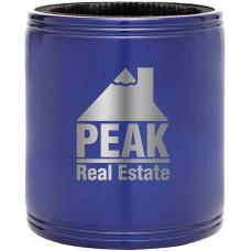Metal Beverage Holder in Blue Metal