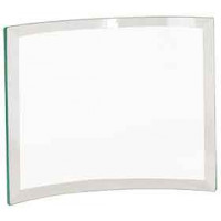 "Jade Beveled Glass Crescent (8"" x 6"" x 1/4"")"