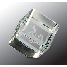 """Crystal Cube (3 1/2"""")"""