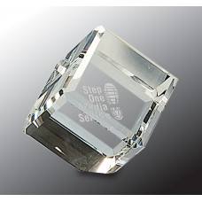 """Crystal Cube (2 3/4"""")"""