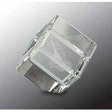 """Crystal Cube (2 1/4"""")"""