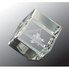 """Crystal Cube (4 1/2"""")"""