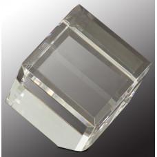 """Crystal Cube (5 3/4"""")"""