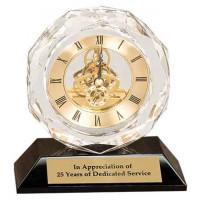 "Crystal Clock (5 3/4"")"