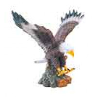 """Hand Painted Resin Eagle (7 1/4"""")"""