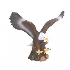 """Hand Painted Resin Eagle (9 1/2"""")"""