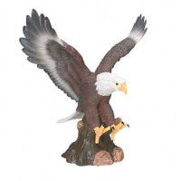 """Hand Painted Resin Eagle (15"""")"""