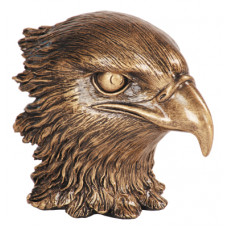 "Resin Eagle Heads Metallic Gold (4"")"