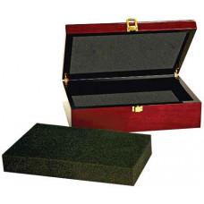 "Rosewood Piano Finish Gift Box (10 1/4"" x 7 1/2"" x 3 1/8"")"