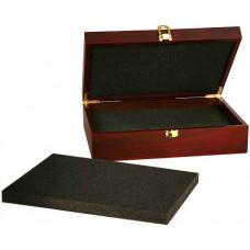"Rosewood Finish Gift Box (10 1/4"" x 7 1/2"" x 3 1/8"")"