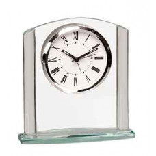 "Arch Glass Clock (6 1/4"")"