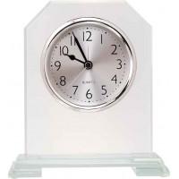 "Clip Corner Glass Clock (6 1/2"")"