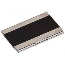 Metal Business Card in Black