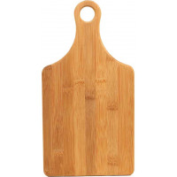 "Bamboo Cutting Board in Paddle Shape (13 1/2"" x 7"")"