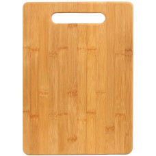 "Rectangle Bamboo Cutting Board (13 3/4"" x 9 3/4"")"