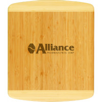 "Bamboo Cutting Board in Rectangle 2 Tone (13 1/2"" x 11 1/2"" x 3/4)"