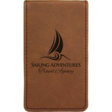 Leatherette Manicure Gift Set in Dark Brown (7-Piece)