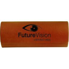 Leatherette Eyeglass Case in Rawhide