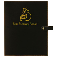 """Book/Bible Cover with Snap Closer in Black (8 3/4"""" x 11"""")"""