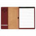 """Leatherette Portfolio with Notepad in Rose (9 1/2"""" x 12"""")"""