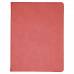 """Leatherette Portfolio with Notepad in Pink (9 1/2"""" x 12"""")"""