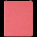 "Leatherette Portfolio in Pink w/ Zipper & Notepad (9 1/2"" x 12"")"