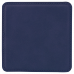 "Leatherette Square Coaster in Blue (4"" x 4"")"