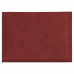 """Leatherette Hard Business Card Holder In Rose (3 3/4"""" x 2 3/4"""")"""
