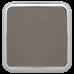 """Leatherette Square Coaster in Gray w/ Silver Edge (3 5/8"""" x 3 5/8"""")"""