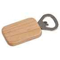 Wooden Magnetic Bottle Opener Rectangle in Maple