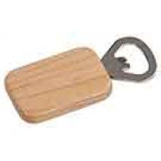 Wooden Magnetic Bottle Opener Rectangle in Maple