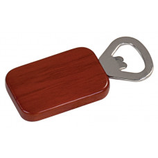 Wooden Magnetic Bottle Opener Rectangle in Rosewood