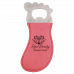 Leatherette Foot Shaped Bottle Opener in Pink with Magnet