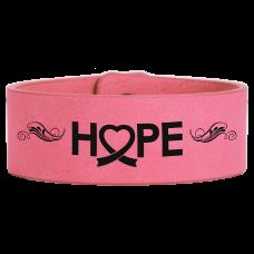 Leatherette Cuff/Bracelet in Pink