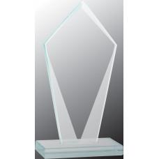 """Diamond Jade Glass Award (6 3/4"""")"""