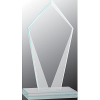 """Diamond Jade Glass Award (8 1/2"""")"""