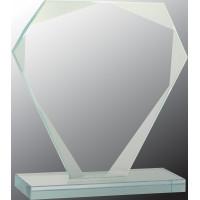 "Cut Diamond Jade Glass Award (7"")"